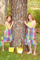 Easter Session - Haleigh and Hannah